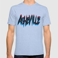 ASHEVILLE  Mens Fitted Tee Athletic Blue SMALL