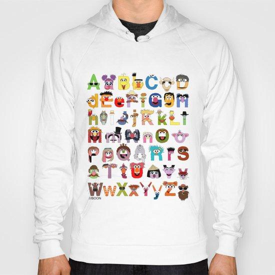 Sesame Street Alphabet Hoody