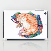 Zoi's Winter Nap iPad Case