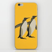 Penguins mate for life iPhone & iPod Skin