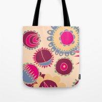 Flower Doodle Tote Bag