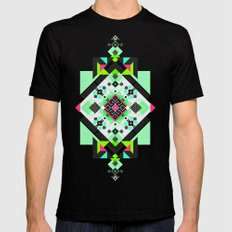 ::: Space Rug3 ::: Mens Fitted Tee Black SMALL