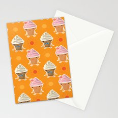 ice cream and sun bath Stationery Cards