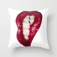 Mmmmm III Throw Pillow