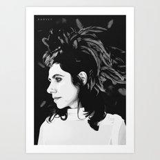 PJ Harvey Art Print