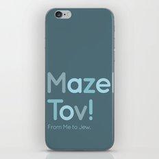 Mazel Tov! iPhone & iPod Skin