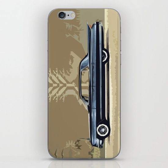 1961 Cadillac Fleetwood Sixty-Special ~ An Artist's Impression  iPhone & iPod Skin