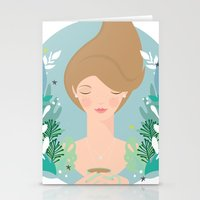 That first cuppa tea feeling Stationery Cards