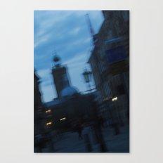Silent Parade. Canvas Print