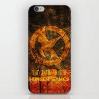 My tribute to Panem iPhone & iPod Skin
