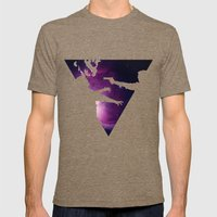 To Infinity and Goodbye Mens Fitted Tee Tri-Coffee SMALL