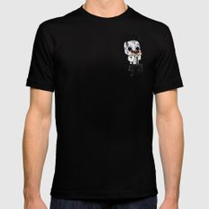 Normalhands Mens Fitted Tee Black SMALL