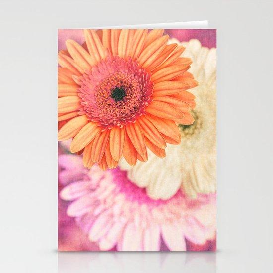 Sweet Daisy Sorbet Stationery Card