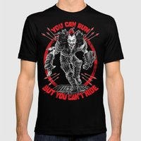 MAD MAX: WEZ THE ROAD WARRIOR Mens Fitted Tee Black SMALL