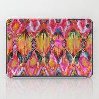 Ikat #32 Orange iPad Case