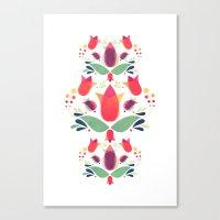 Gardens of V Canvas Print