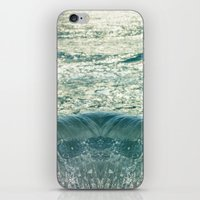 Glimpse of the Mermaid's Descent iPhone & iPod Skin