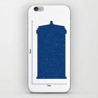 Tardis, Space and Time iPhone & iPod Skin