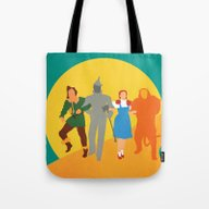 The Wzard Of Oz Tote Bag