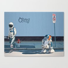 The Parking Ticket Canvas Print