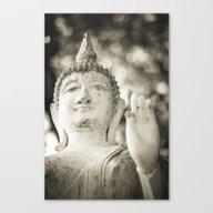 Buddha In Sukhothai Canvas Print