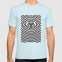Third Eye Mens Fitted Tee Light Blue SMALL