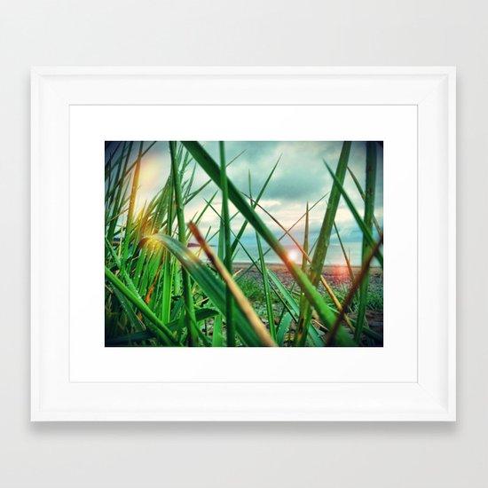 Morning.. Framed Art Print