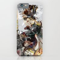 iPhone & iPod Case featuring The Empress by Felicia Atanasiu