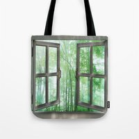 WINDOW TO NATURE Tote Bag