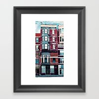 18th Street Framed Art Print