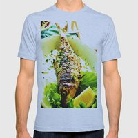 Lunch Mens Fitted Tee Athletic Blue SMALL