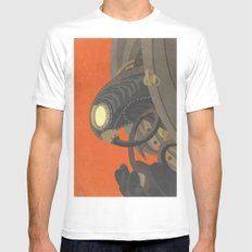 SongBird - BioShock Infinite SMALL White Mens Fitted Tee