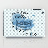Music's all you need iPad Case