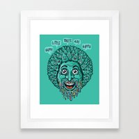 Happy Little Trees Are Happy  Framed Art Print