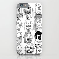 iPhone & iPod Case featuring Monster Meet Up by Frenemy