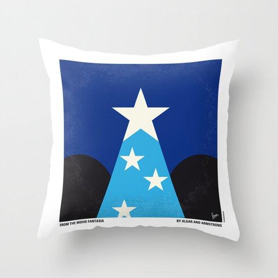 No242 My Fantasia minimal movie poster Throw Pillow