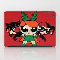 Supervillain Girls iPad Case