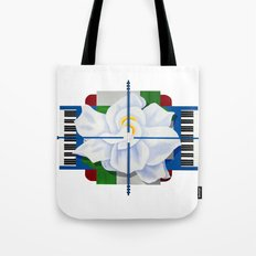 Jazz Gardenia Tote Bag