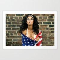 GRZNYC: AMERICANA #1 Art Print