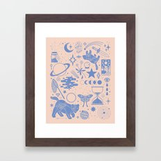 Collecting the Stars Framed Art Print
