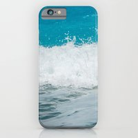 wave iPhone & iPod Cases featuring Wave by SensualPatterns