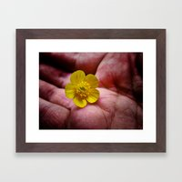 Pickin' Wild Flowers Framed Art Print