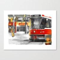 Toronto Streets 1 Canvas Print