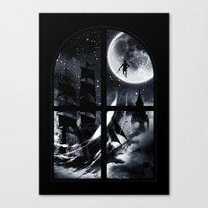 Playtime's Over Canvas Print