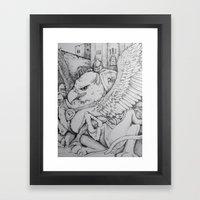 Griffen Framed Art Print