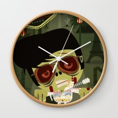 Elvis Zombie Wall Clock