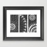 Autogeneración Framed Art Print