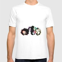 Club 27 Mens Fitted Tee White SMALL