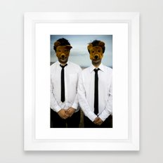 all things visible and invisible no. 1 Framed Art Print