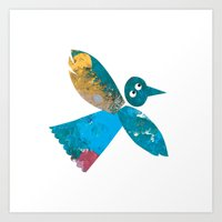 Beautiful Bird Art Print